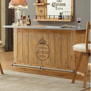 Corona Bar with Wine Storage