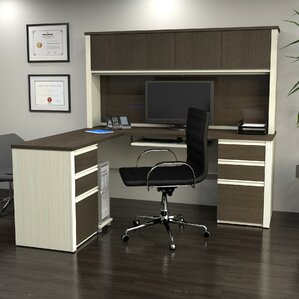 bormann workstation desk with pedestal