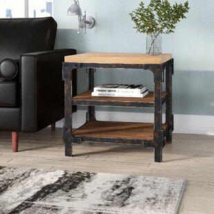 Industrial Side Table Wheels | Wayfair