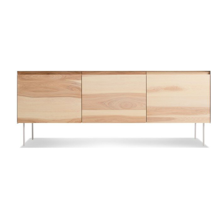 Clad 3 Door Credenza Allmodern - Calligaris-seattle-storage-cupboard-with-four-doors