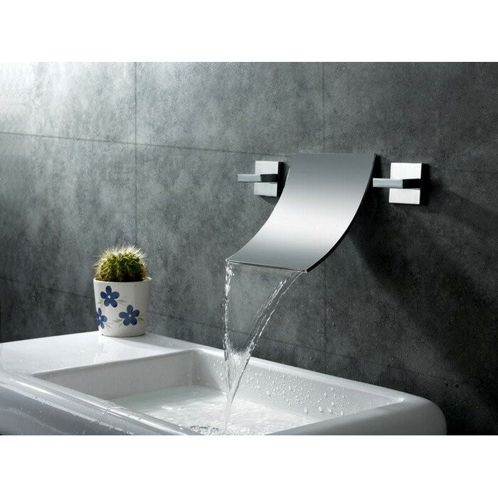 Sumerain Wall Mount Waterfall Bathroom Sink Faucet Reviews