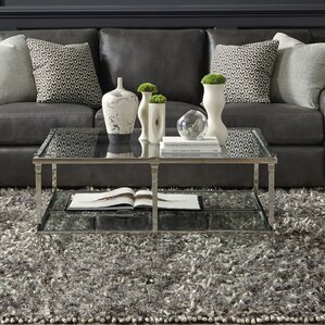 Napier Square Metal Coffee Table by Bernhardt