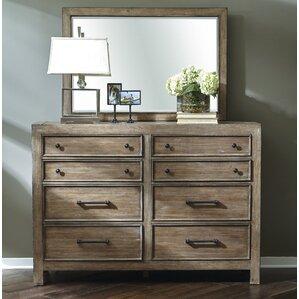 Fort Oglethorpe 8 Drawer Double Dresser by Laurel Foundry Modern Farmhouse