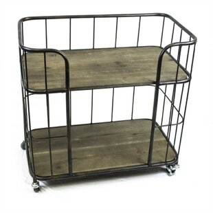 Minnick Caged Bar Cart