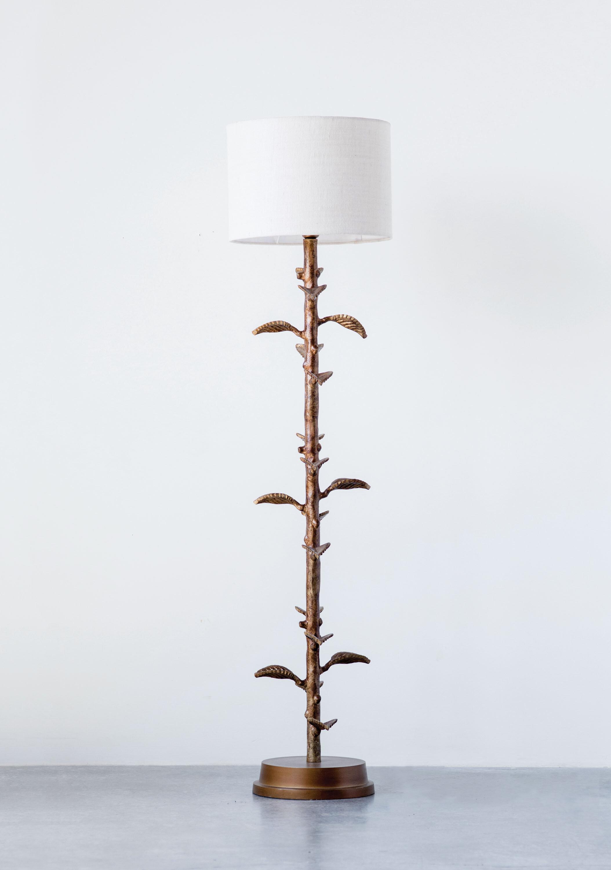 Bungalow Rose Jenkintown Branch Cast Aluminum 48 Novelty Floor Lamp Base Wayfair