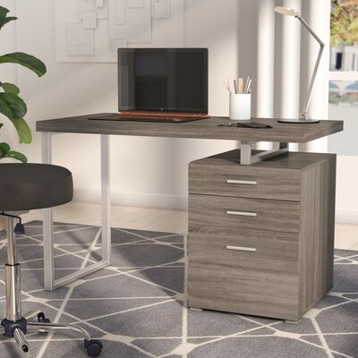 Gray Desks You Ll Love Wayfair
