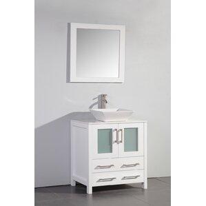 Camillo 30 Single Bathroom Vanity Set With Mirror