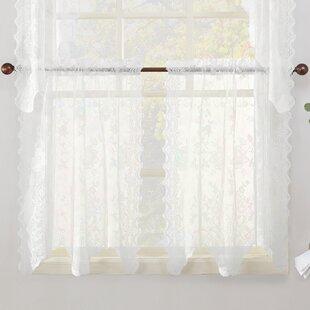 cafe curtains you ll love wayfair