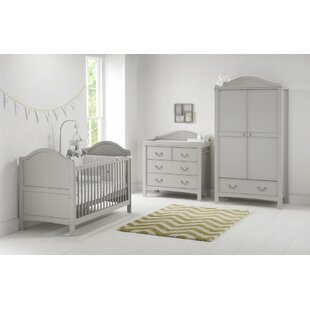 Toulouse Cot Bed 3 Piece Nursery Furniture Set