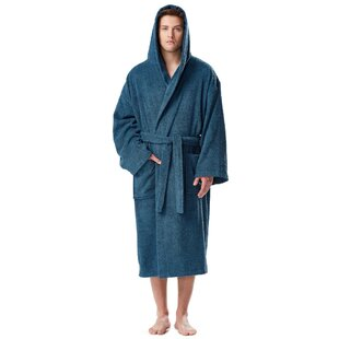 960905f892 Hooded Terry Robe