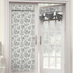 Beau Door Sidelight Panel Curtains | Wayfair