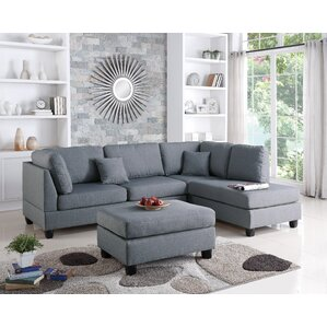 Lucas Reversible Sectional by A&J Homes Studio