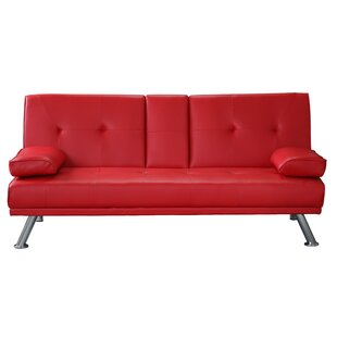 Red Sofa Beds You\'ll Love | Wayfair.co.uk