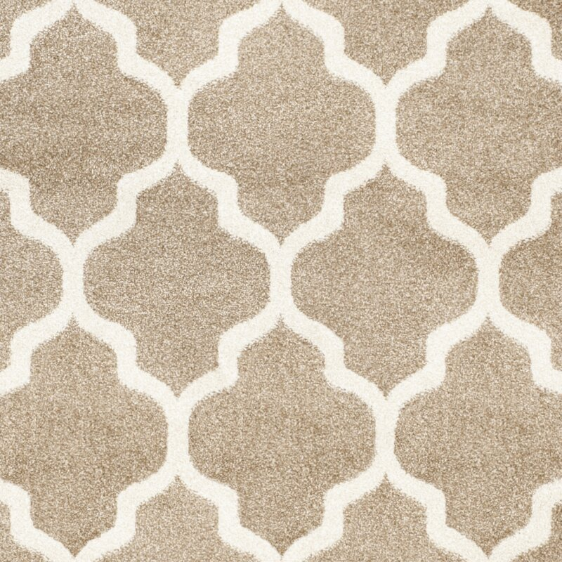 Willa Arlo Interiors Maritza Wheat Beige Woven Area Rug