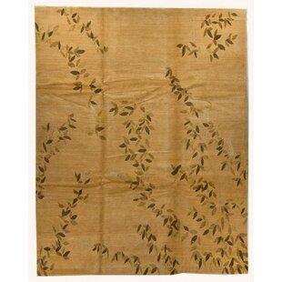 Arts Crafts Brown Rug