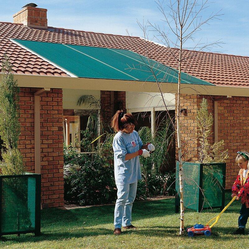14a694e2dd72 Coolaroo Cloth Roll 50% UV Block Outdoor Solar Shade   Wayfair