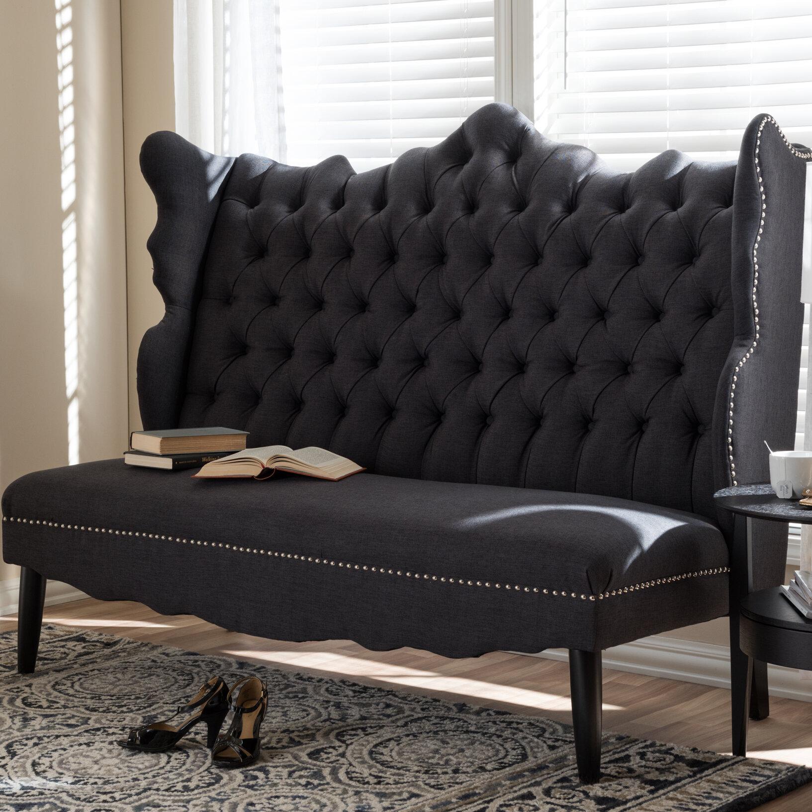 Magnificent Rosdorf Park Licata Upholstered Bench Ncnpc Chair Design For Home Ncnpcorg