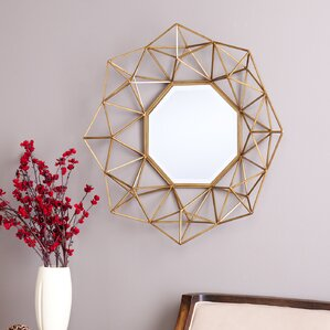 Wayfair Wall Mirrors irregular wall mirrors you'll love | wayfair