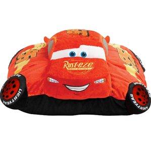 Disney Cars Lightning McQueen Throw Pillow