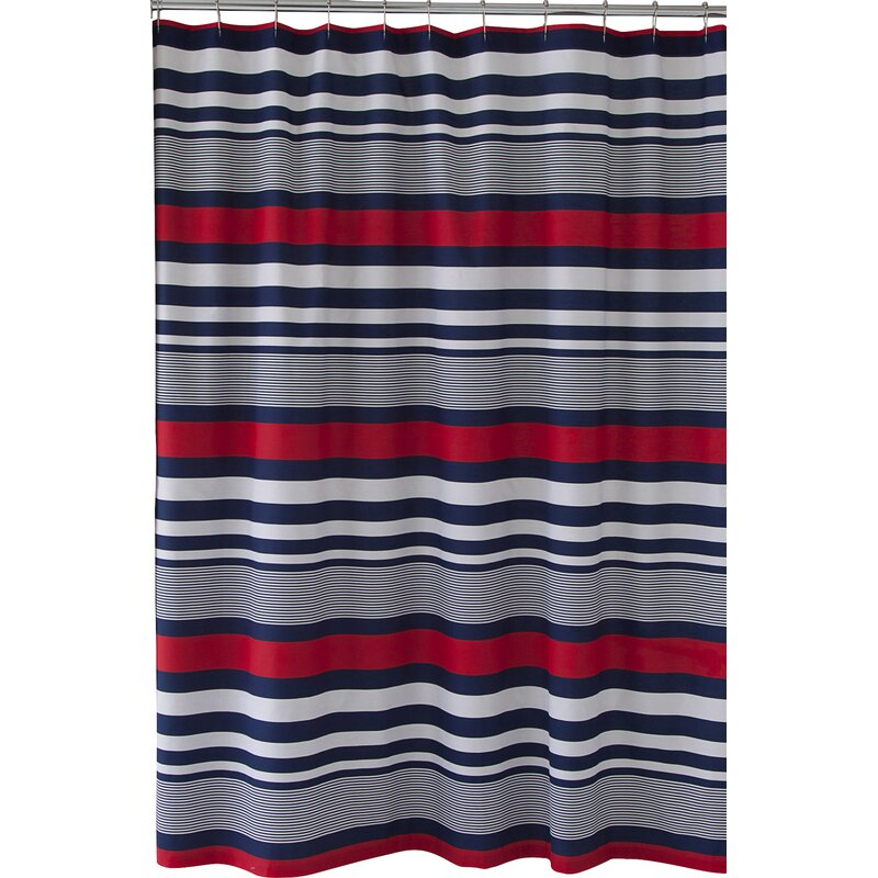 Varsity Stripe Single Shower Curtain