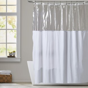 Shower Curtain With Window Wayfair - Bathroom shower curtains and window curtains