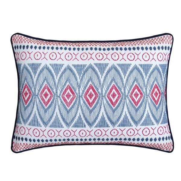 Lux Bed Sarita Garden Cotton Throw Pillow