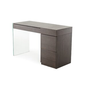 Calmar Floating Glass Vanity with Mirror