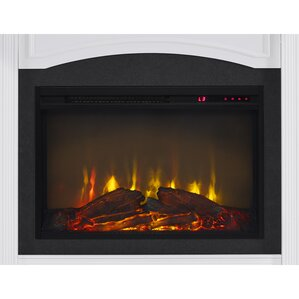 Allsop Mantel Wall Mount Electric Fireplace by Charlton Home