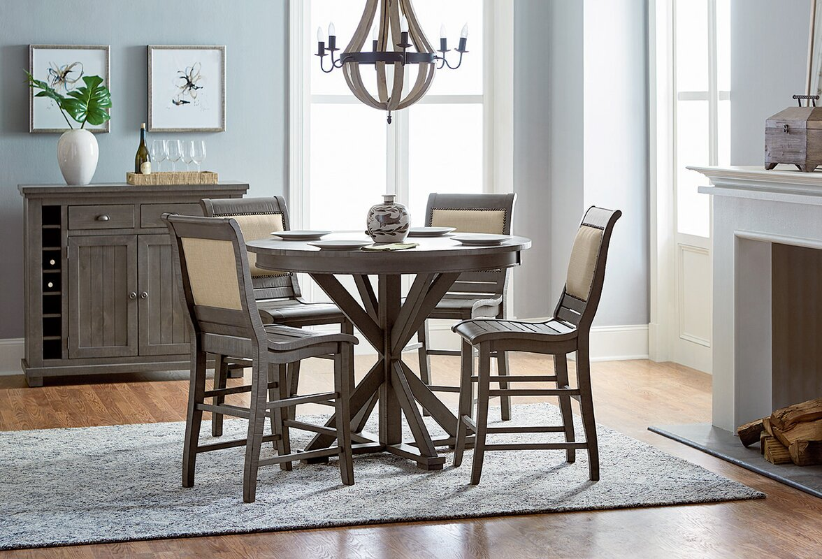 Epine Round Counter Height Dining Table Reviews AllModern