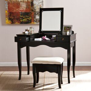 vanity and work desk combo.  Makeup Tables and Vanities You ll Love Wayfair