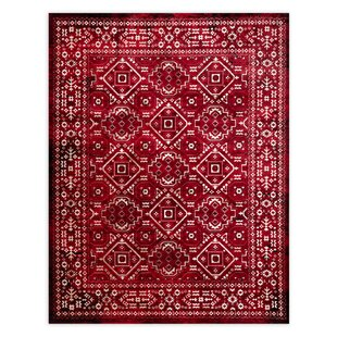 Buying Flaherty Red Area Rug ByAlcott Hill