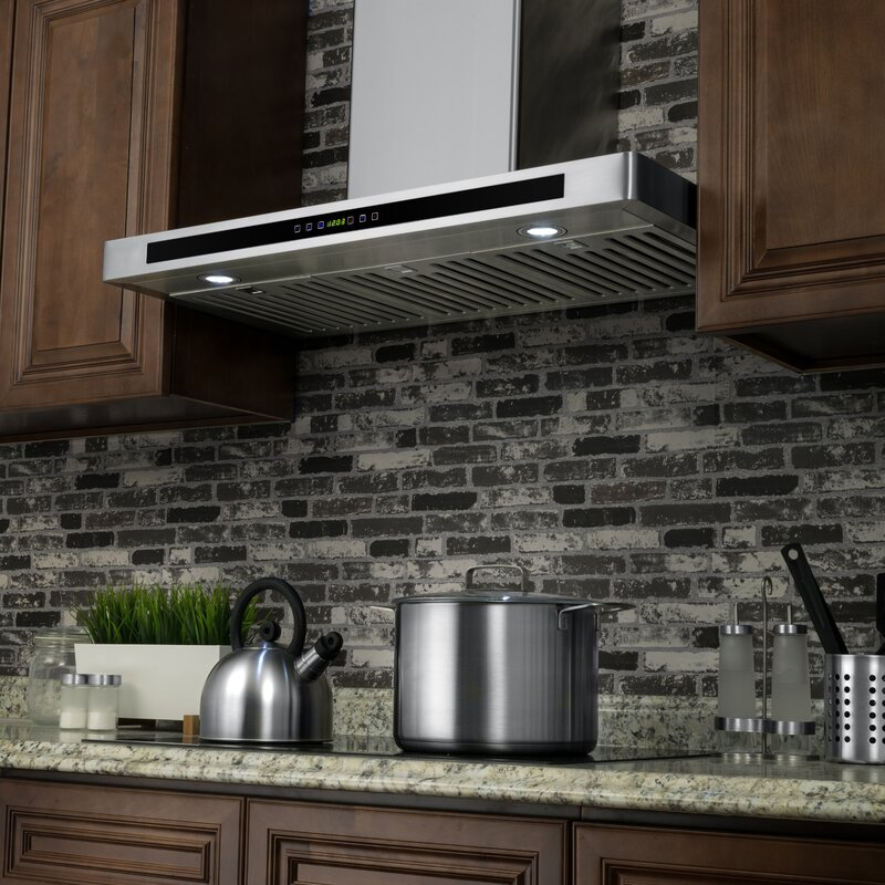 Beautiful Under Cabinet Range Hood 36 Inch Stainless Steel
