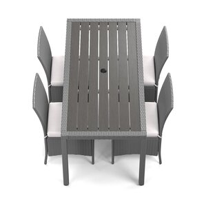 5piece alana patio dining group