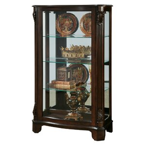 Akerman Mantel Lighted Curio Cabinet by C..