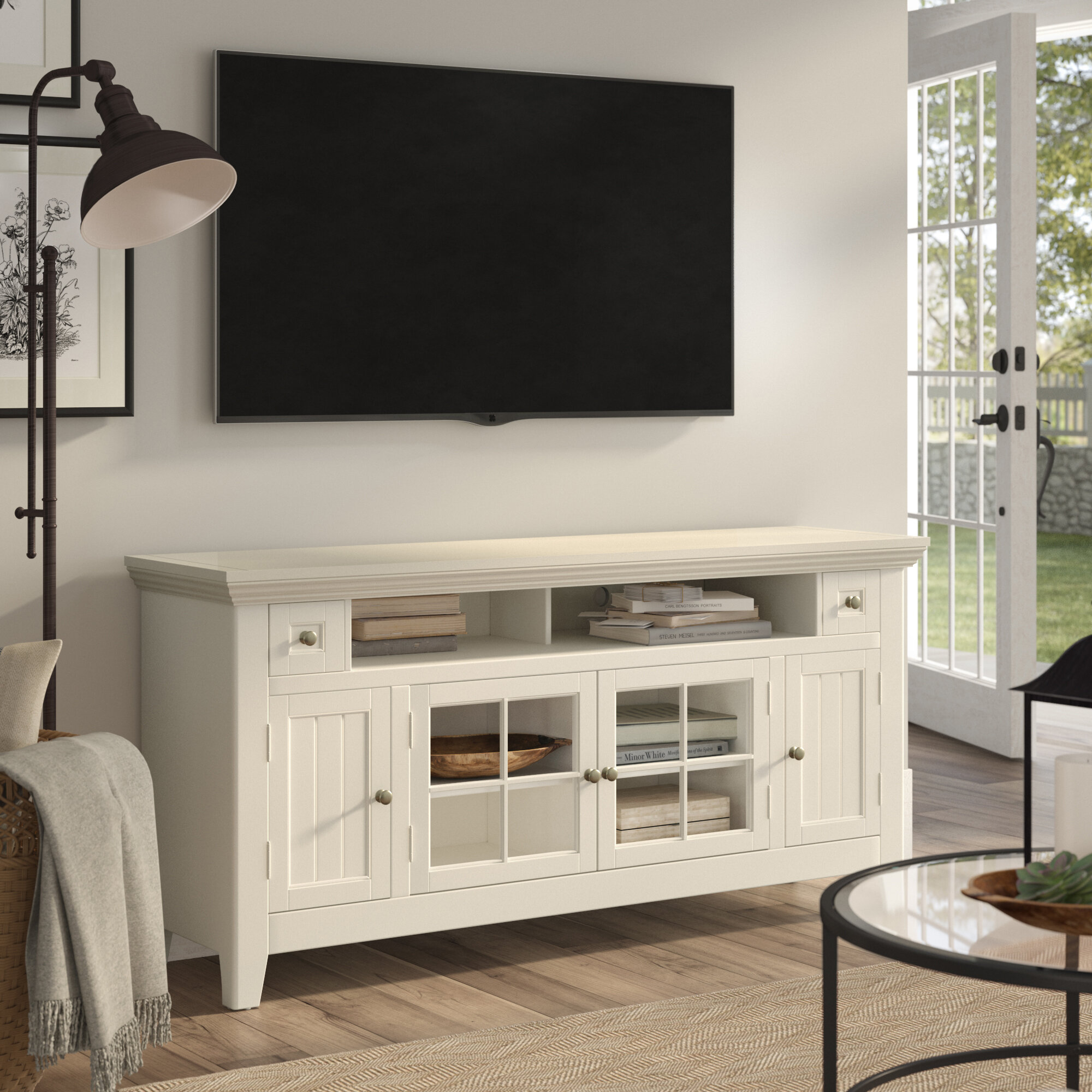 Birch Lane Heritage Calila Tv Stand For Tvs Up To 60