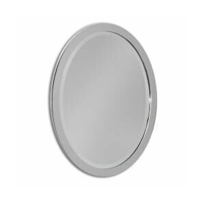 Needham Metal Oval Bathroom Vanity Wall Mirror