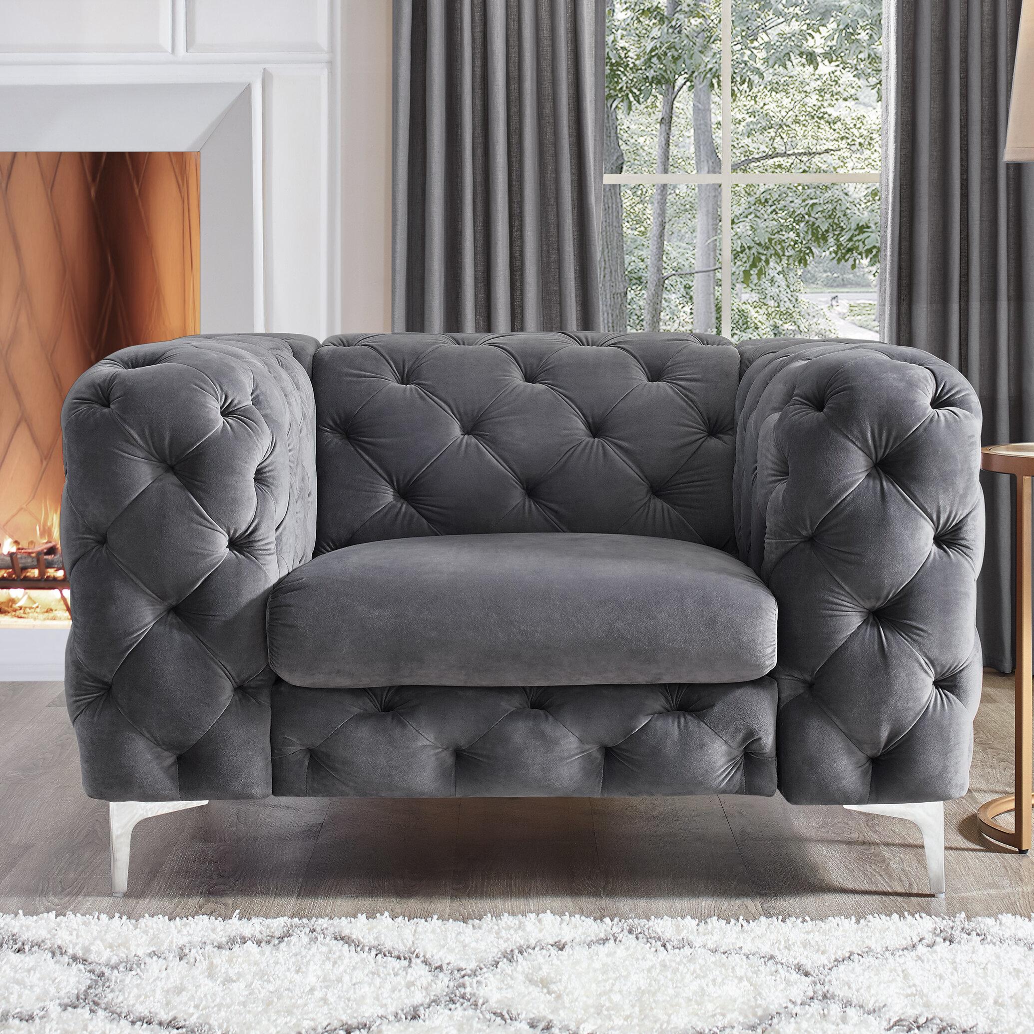 House of hampton kogan chesterfield chair reviews wayfair