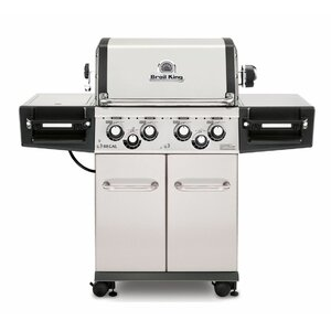 Regal 490 Pro 4-Burner Gas Grill with Side Burner