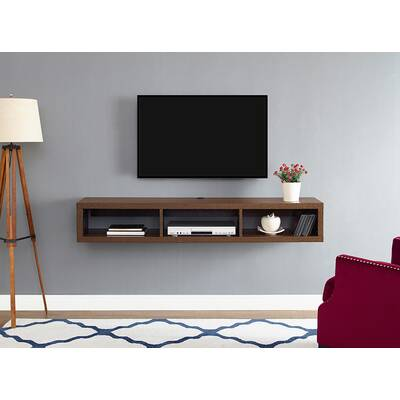 martin home furnishings ascend 60 asymmetrical wall mounted rh wayfair com wall mounted tv cabinet wall hung tv cabinet ikea