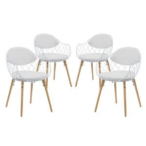 Parsons Chair (Set of 4) by Modway
