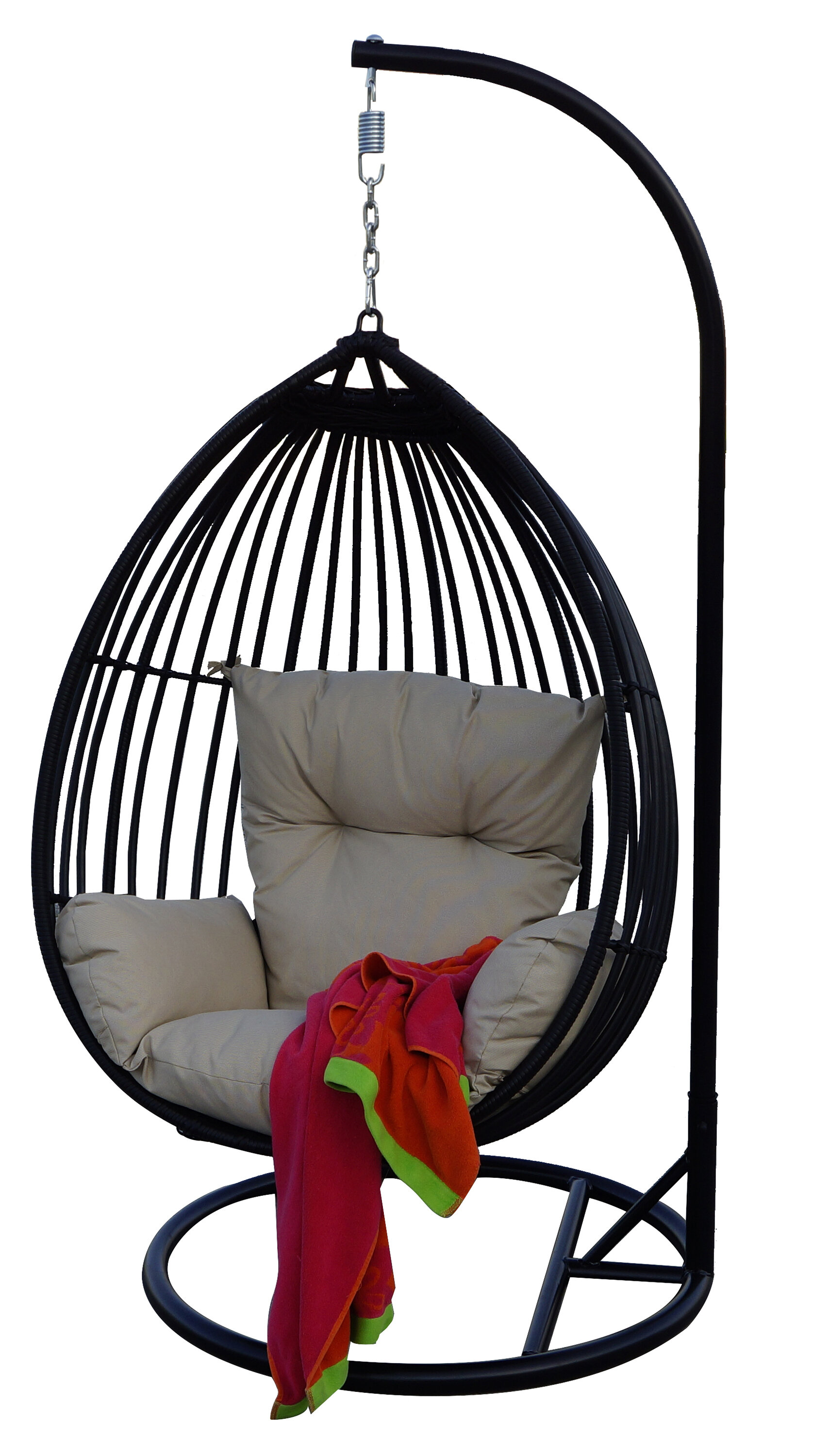 loading and chair with image is ebay portable itm free carrying hammock stand stalwart standing bag frame