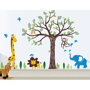 Happy Zoo Wall Decal