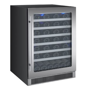 55 Bottle Reserva Series Single Zone Built-In Wine Cooler by Allavino