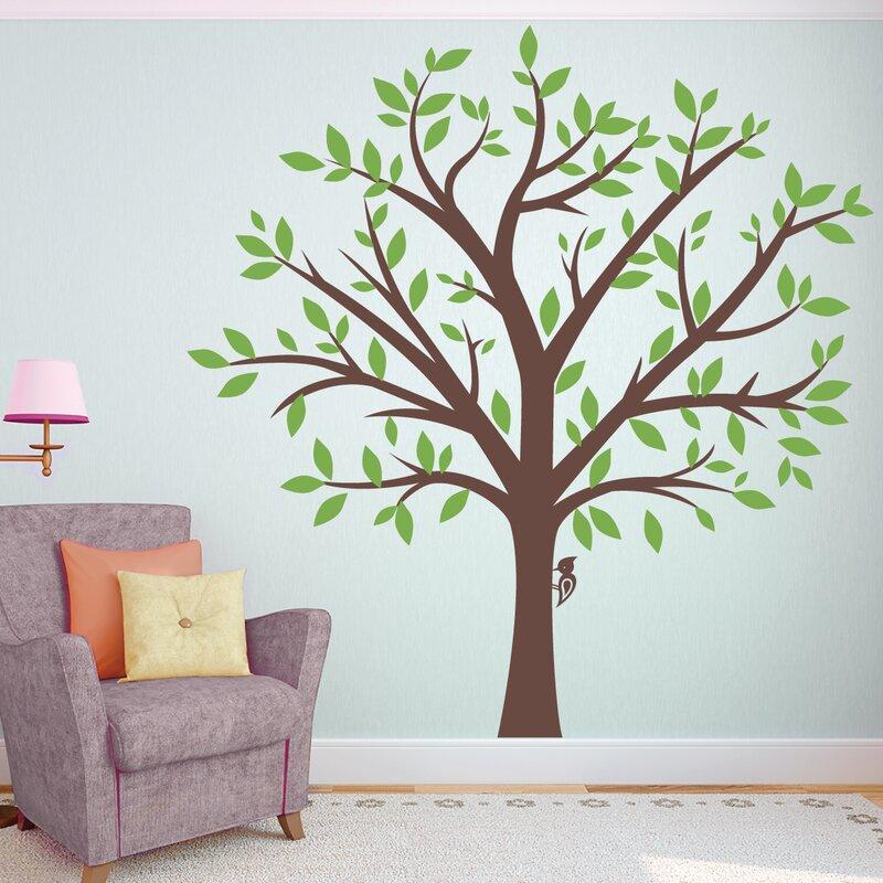 Wallums Wall Decor Large Family Tree Wall Decal   Reviews  dd9fc7ecd