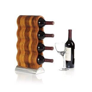Curvo 4 Bottle Tabletop Wine Rack