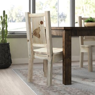 Abella Rustic Solid Wood Dining Chair