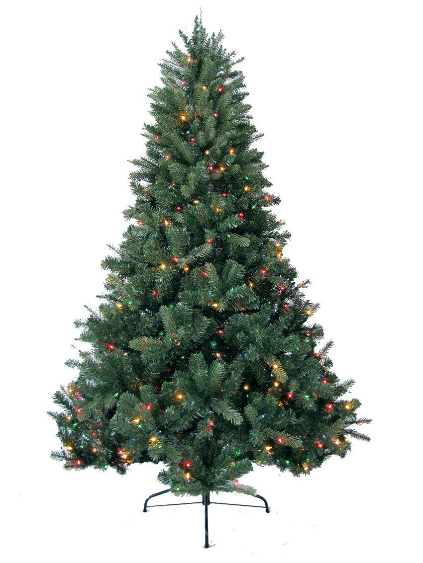 Jolly Workshop 7\' Green Deerwood Fir Artificial Christmas Tree with ...