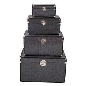 4-tlg. Aufbewahrungsboxen-Set von Hazelwood Home