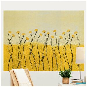 "Fields of Gold 6' x 54"" Wall Mural"