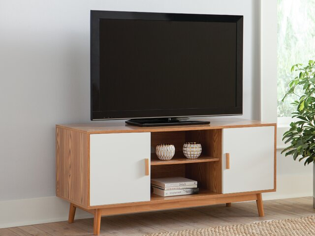 L Shaped Entertainment Unit Miguel Barcelo